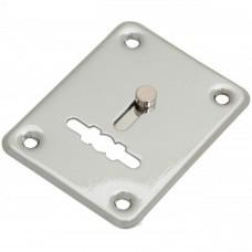 Накладка Apecs DP-S-01 shutter хром