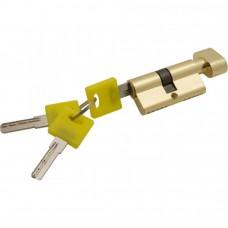 Цилиндр ключ фиксатор золото