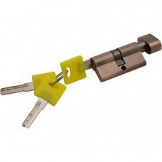 Цилиндр ключ фиксатор медь