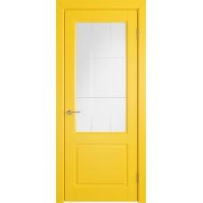 К1/ Желтая эмаль остекленная