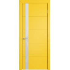 К4/ Желтая эмаль остекленная