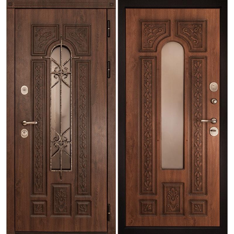 металлические двери с ковкой в подольске