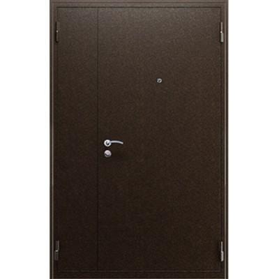 Тамбурная дверь антик медь итальянский орех