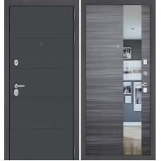 ART графит софт/ Сандал серый горизонтальный с зеркалом