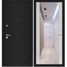 CLASSIC шагрень черная/ с зеркалом максимум Сандал белый