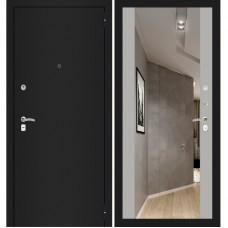 CLASSIC шагрень черная/ с зеркалом максимум Грей софт