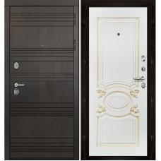 Входная дверь Министр Аристократ патина золото